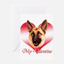 Tan Shep Valentine Greeting Card