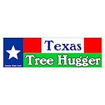 Texas Tree Hugger Bumper Sticker