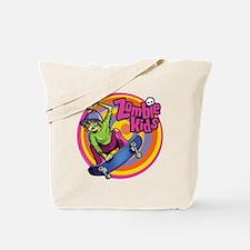 Skater Zombie Kid Tote Bag