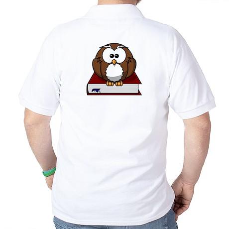 Scholarly Owl Polo Shirt