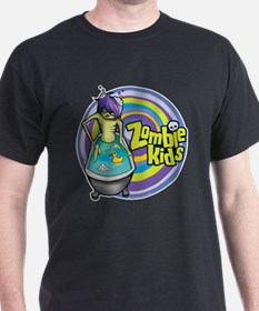 Bath Tub Zombie Kid T-Shirt