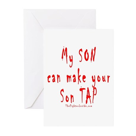 My SON can make your Son TAP Greeting Cards (Pk of