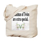 Twin Canvas Totes