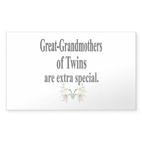 Great Grandmothers, Extra Spe Sticker (Rectangle)