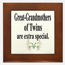 Great Grandmothers, Extra Spe Framed Tile