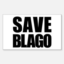 Save Blago Rectangle Decal