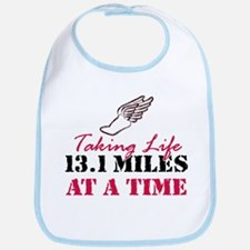 Taking Life 13.1 miles Bib