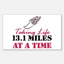 Taking Life 13.1 miles Decal