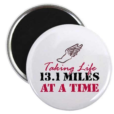 "Taking Life 13.1 miles 2.25"" Magnet (10 pack)"