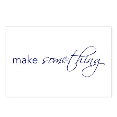 make something - Postcards (Package of 8)