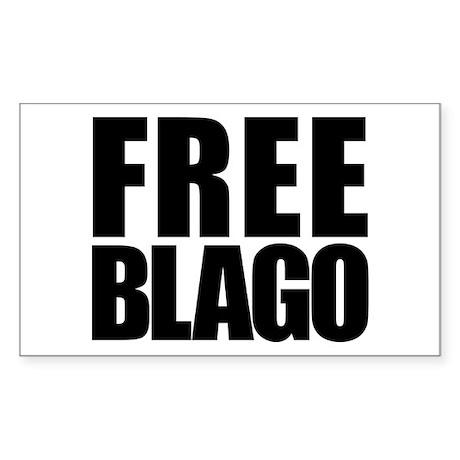 Free Blago Rectangle Sticker 50 pk)