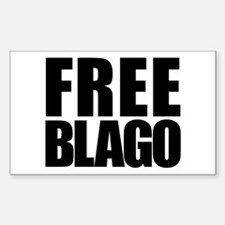 Free Blago Rectangle Decal