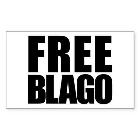 Free Blago Rectangle Sticker