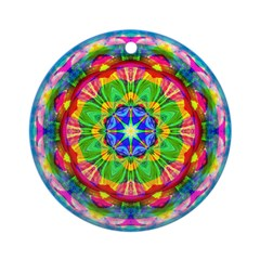 Bright Kaleidoscope Ornament (Round)