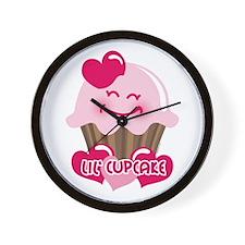 Lil' Cupcake Wall Clock