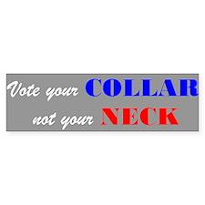 Vote your Collar (Bumper Sticker)