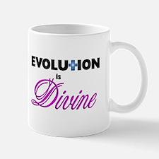 Evolution is Divine -- The Mug
