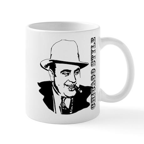 chicagostyle-black Mugs