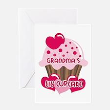 Grandma's Lil' Cupcake Greeting Card