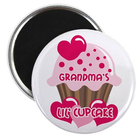 Grandma's Lil' Cupcake Magnet