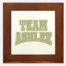 Team Ashlee Personalized Custom Framed Tile