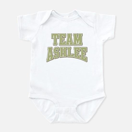 Team Ashlee Personalized Custom Infant Bodysuit