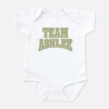 Team Ashlee Personalized Custom Onesie