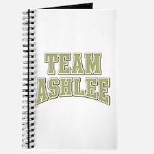 Team Ashlee Personalized Custom Journal