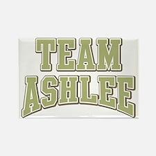 Team Ashlee Personalized Custom Rectangle Magnet