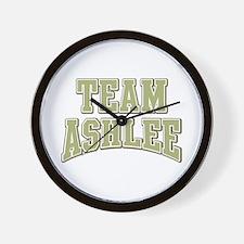 Team Ashlee Personalized Custom Wall Clock