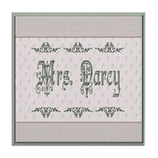 Mrs. Darcy Tile Coaster