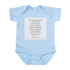 EXODUS  4:18 Infant Creeper
