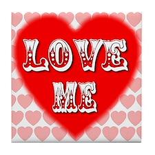 Love Me Tile Coaster