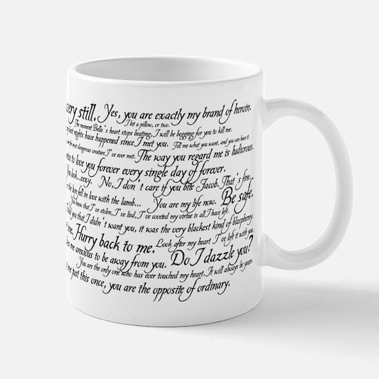 Edward Cullen Quotes Mug