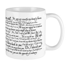 Edward Cullen Quotes Mug