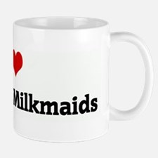 I Love Wisconsin Milkmaids Mug