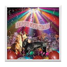Animal New Year Tile Coaster