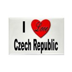 I Love Czech Republic Rectangle Magnet (10 pack)