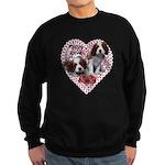 Cavalier Puppy Love Sweatshirt (dark)