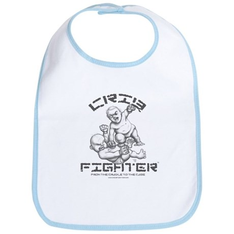 Crib Fighter - Baby Brawl Bib