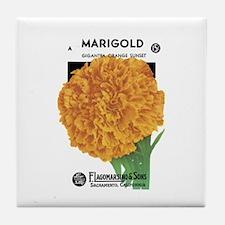 Marigold Tile Coaster