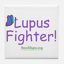 Lupus Fighter Tile Coaster