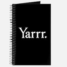 Yarrr Pirate Journal