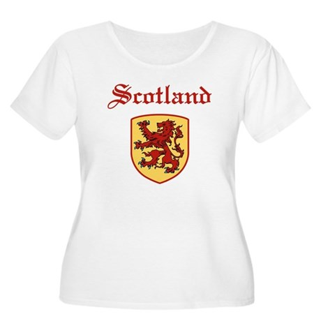 Scotland Women's Plus Size Scoop Neck T-Shirt
