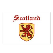 Scotland Postcards (Package of 8)
