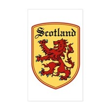 Scotland Rectangle Stickers