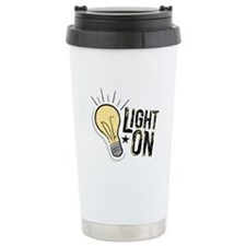 """Light On"" Travel Mug"