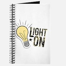 """Light On"" Journal"