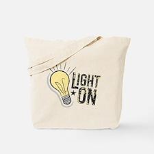 """""""Light On"""" Tote Bag"""