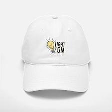 """""""Light On"""" Baseball Baseball Cap"""
